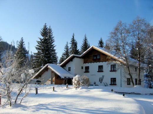 Deublerheim in de winter