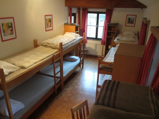 Slaapkamer 4 biedt ruimte aan 10 personen