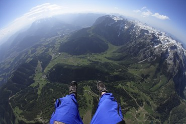 Paragliding in Werfenweng