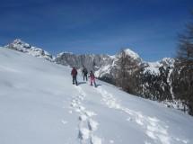 Deublerheim snowshoetocht en toerski
