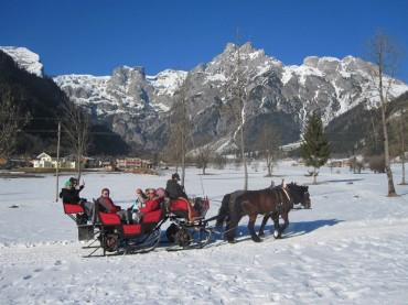Deublerheim arresleetocht winter werfenweng