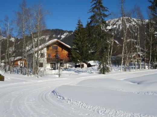 Winter Werfenweng Gruppenhaus