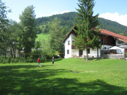 The yard in summer Werfenweng